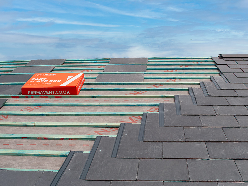 Low pitch roofing solution